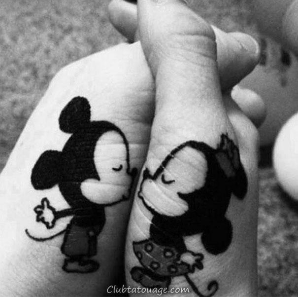 tatouage pour valentines