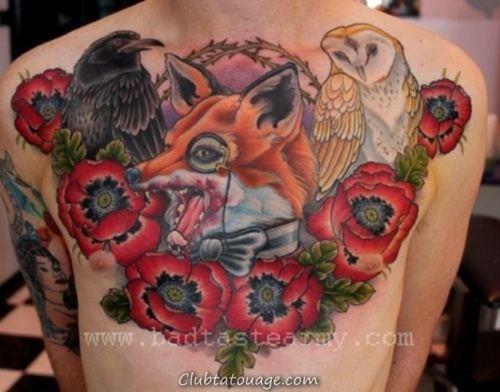 tatouages cuervos8