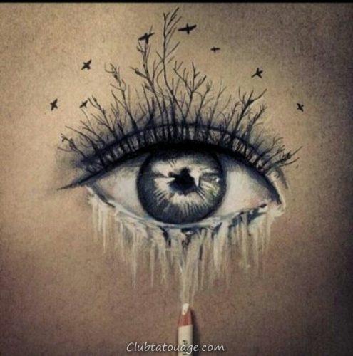 tatouages ojos34