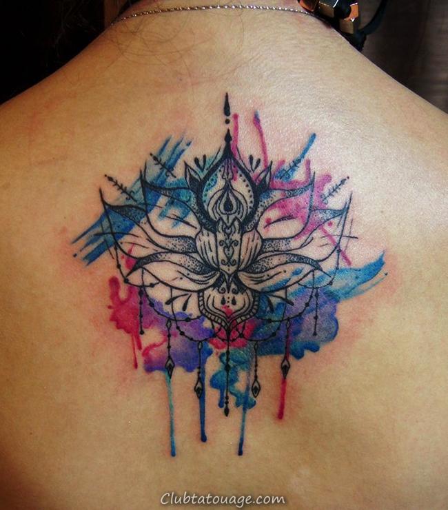Creative Aquarelle Tatouages Idées