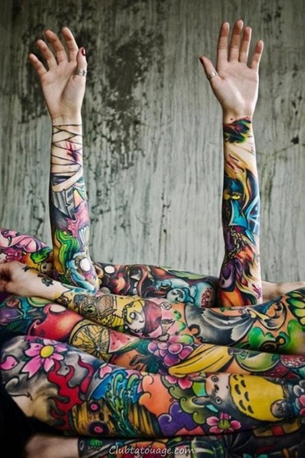 40 Incredible Tattoo Designs Féminin 35