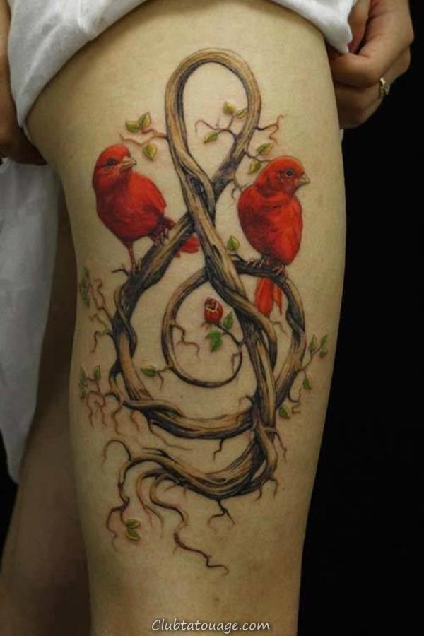 40 Incredible Feminine Tattoo Designs 5