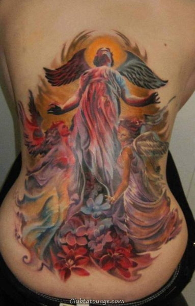 Tattoo Designs Anges 10