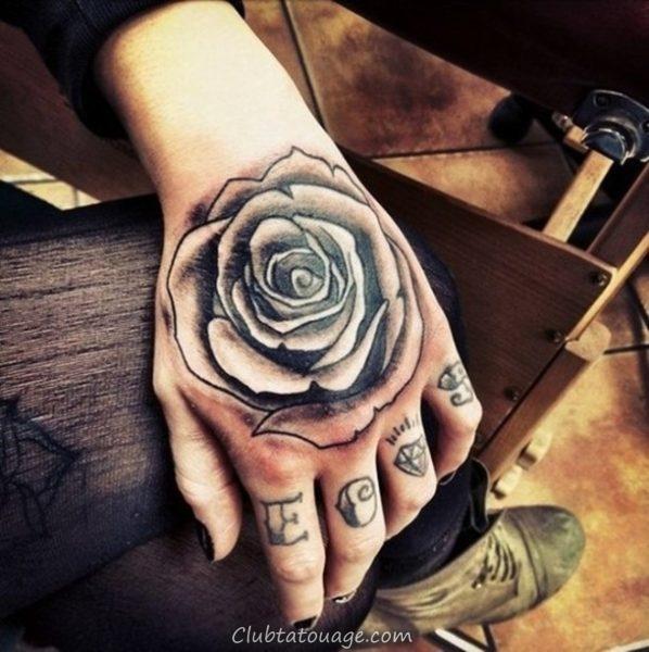 Tattoo Designs in Hand 4
