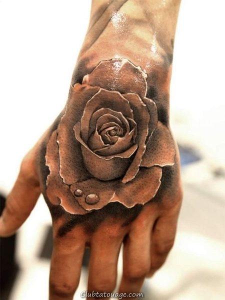 Designs de tatouage à la main 6