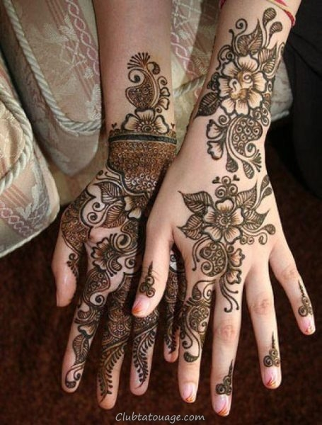 Mehndi Tattoo 8