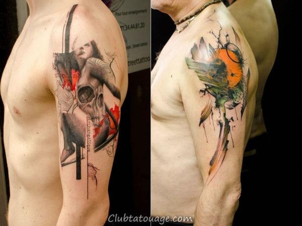 tatouage homme tendance great tatouage bras complet homme intrieur ide tatouage homme motifs. Black Bedroom Furniture Sets. Home Design Ideas