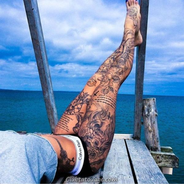 Tatuagem-Sleeve-para-Perna-de-Mulheres-2-600x600