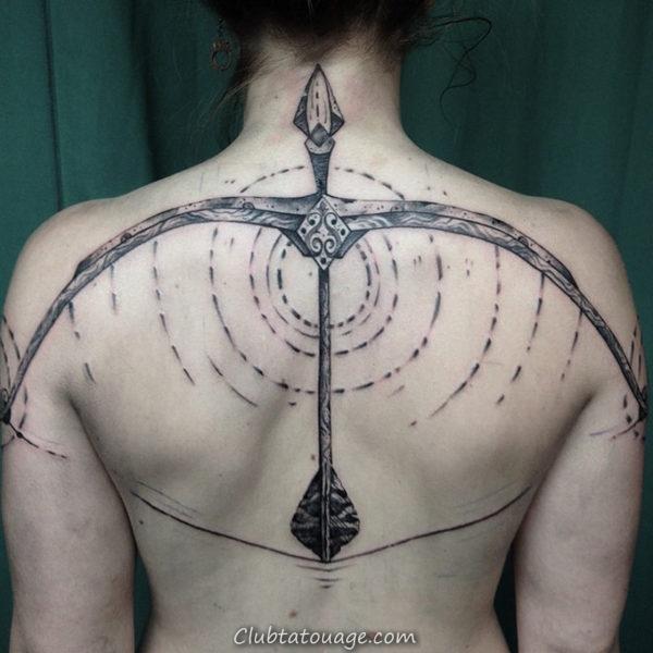 Bow and Arrow Tattoo 7