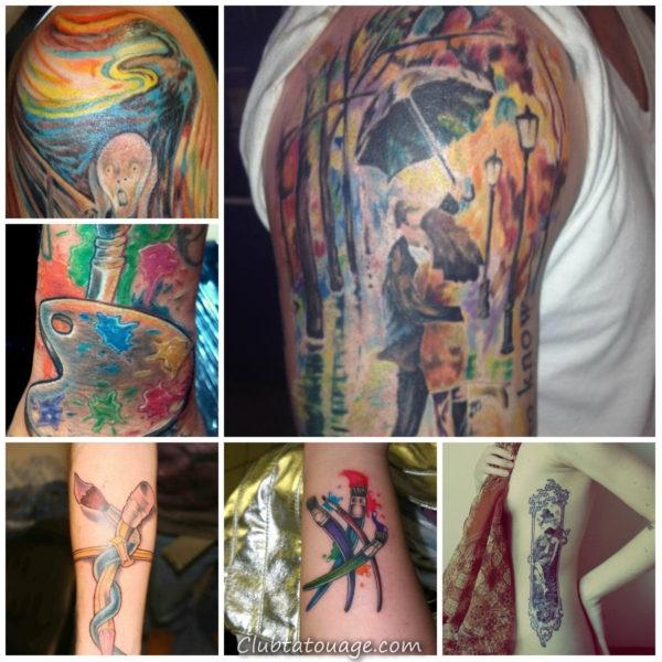 artistes de tatouage à 8