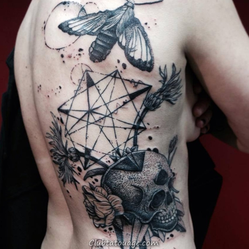 Creative Tatouages ​​et Different 6