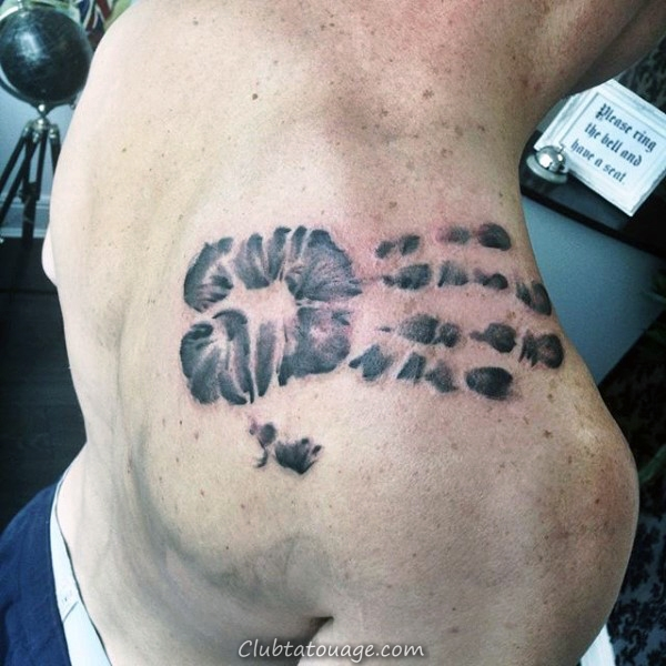 60 Handprint Tattoo Designs For Men - Idées Impression d'encre