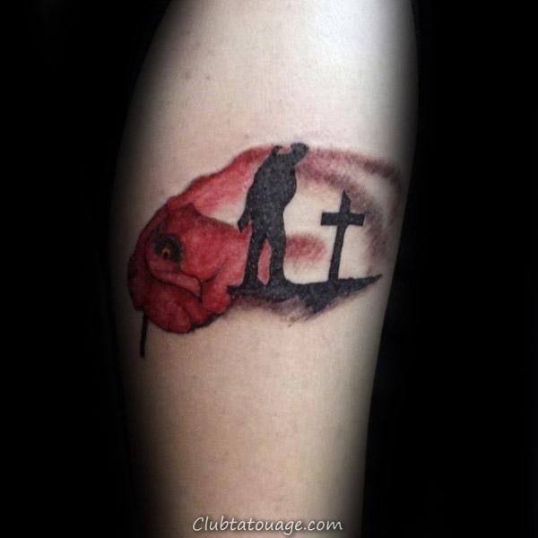 Dog Memorial Guys Half Tattoo Sleeve