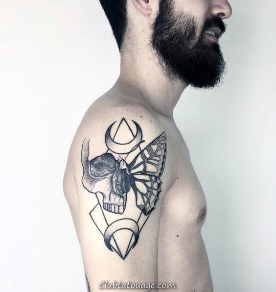 50 Vie Mort Tattoo Designs For Men - Idées Masculine encre