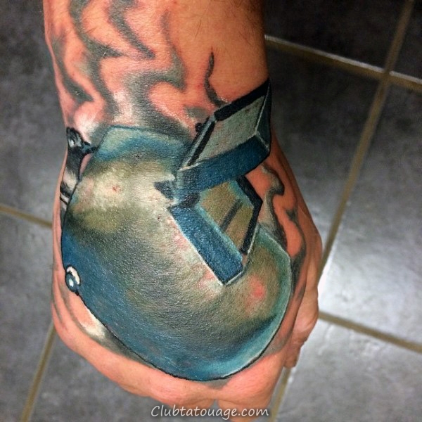 Metal Joining Mens Refroidir Tatouages soudure