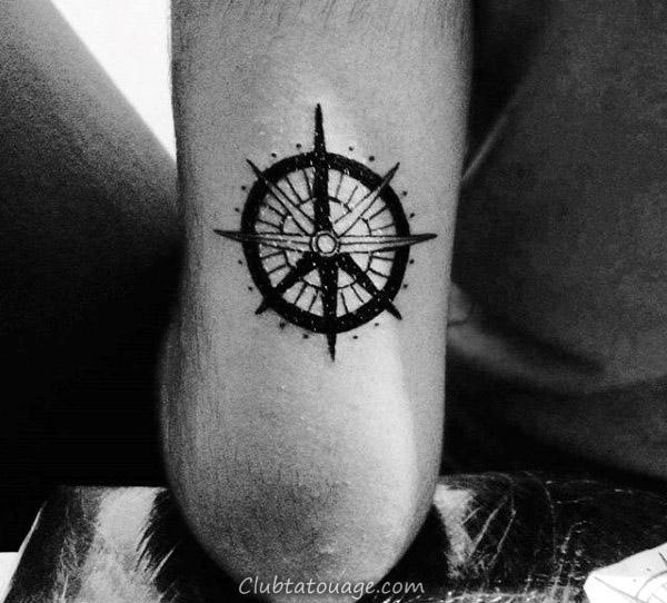 70 Signe de paix Tatouages pour les hommes - Encre symbolique Design Ideas