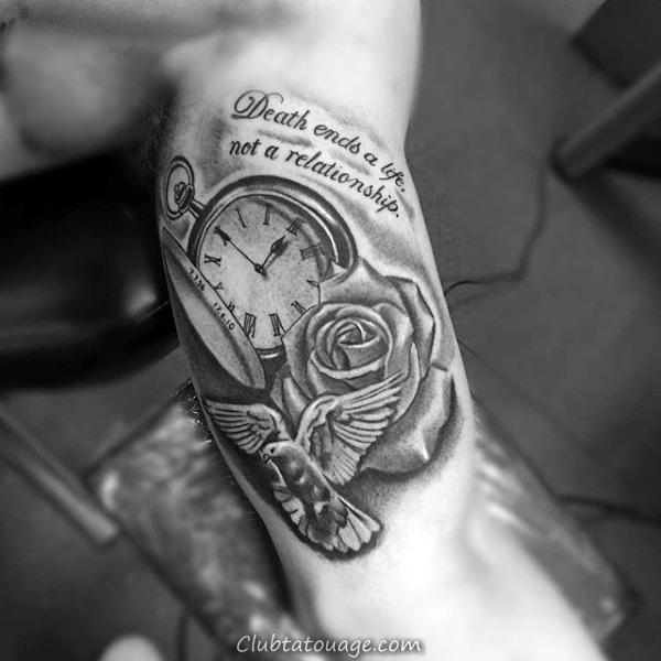 Tatouage sur la vie et la mort tatouage - Tatouage la mort ...