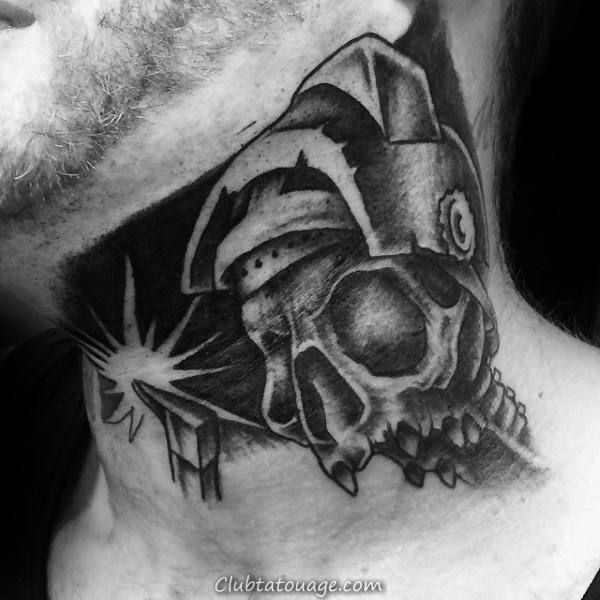 Sparks volants Hommes soudure Upper Arm Tattoos