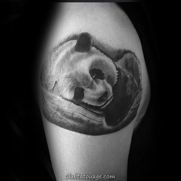 Les petites Panda jAMBE Hommes Banksy Tattoo Ideas
