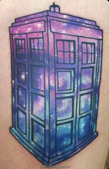 Tattoo cabine Dr.Who