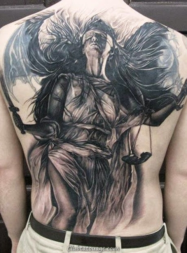 Tattoos 75 Anges Gardiens Et Leur Sens Club Tatouage