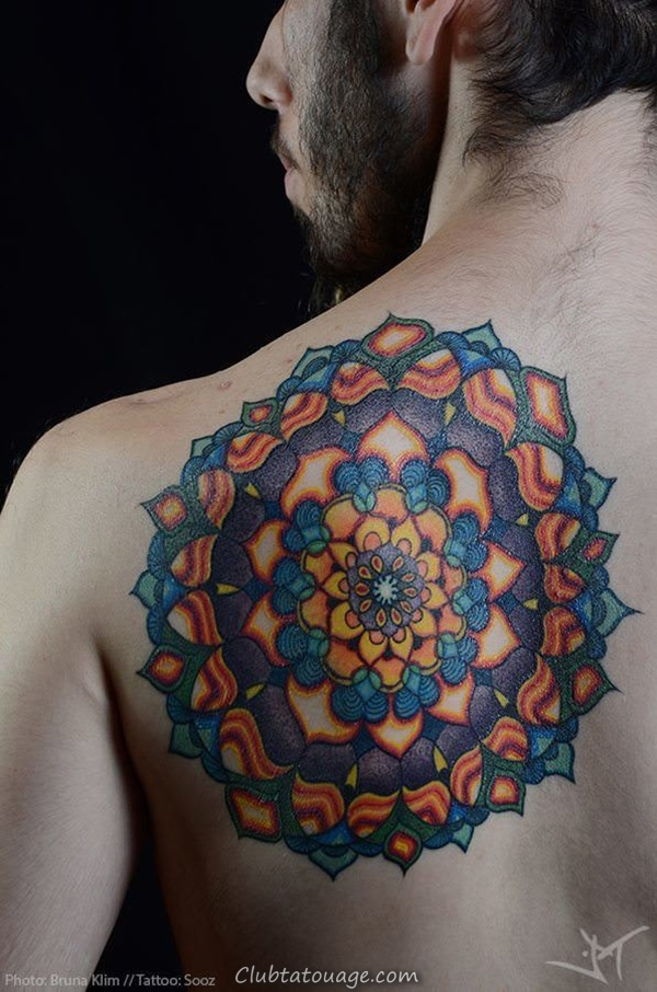width 30 Magnifique Mandala Tattoo Ideas 33