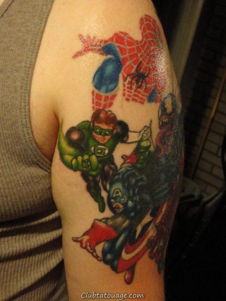 Tattoo super Hero 2