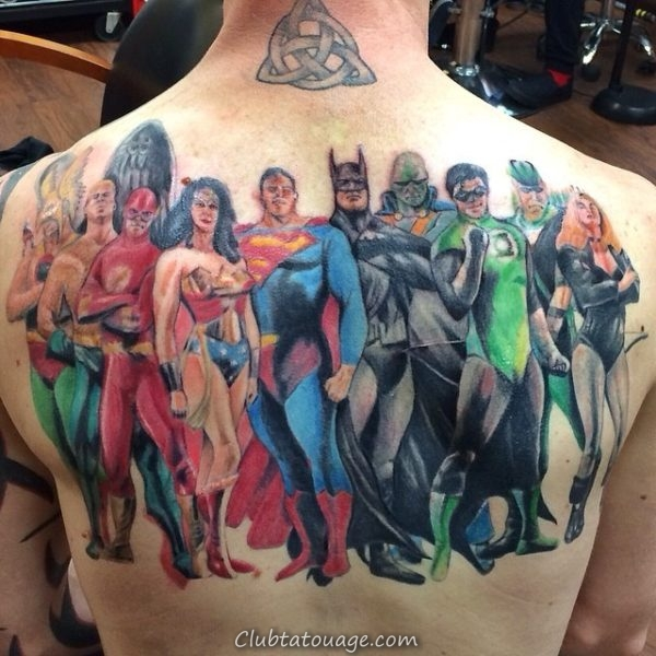 Tattoo super Hero 3