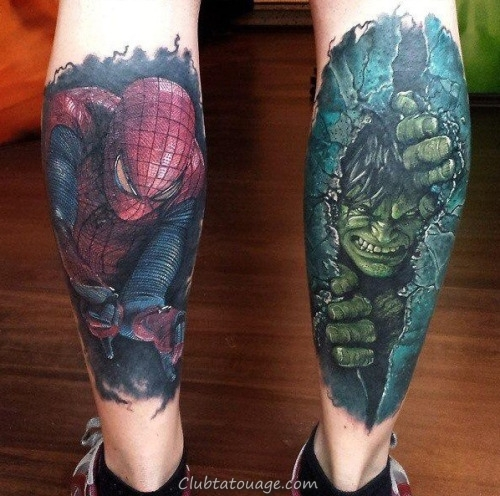 Tattoo super Hero 8