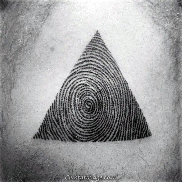 Tattoo Refroidir Homme Fingerprint Inner Forearm Designs