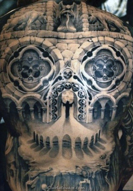 Ville Rue Hommes construction Forearm manches Tattoo Ideas