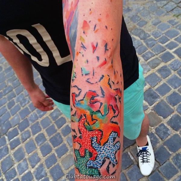 Top 60 Meilleur Pop Art Tattoo Designs For Men - Idées d'encre Gras