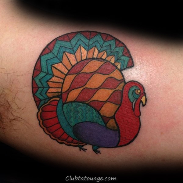cool Upper Arm Tattoo de la Turquie sur l'homme