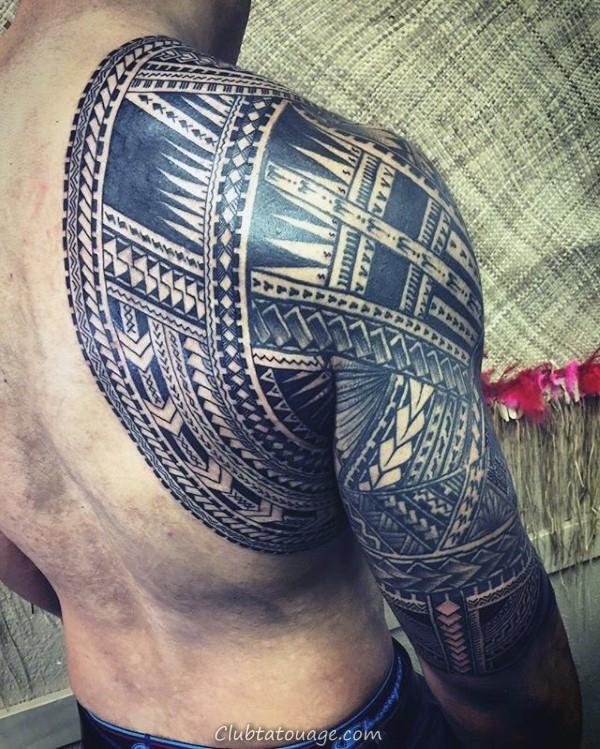 width dos et le bras samoans Guys Sleeve Tribal Tattoos