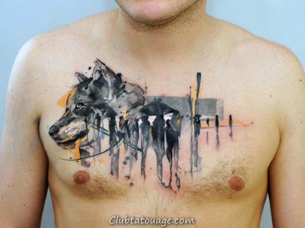 Femme Avec Aigle Creative Arm Tattoos Pour Guys