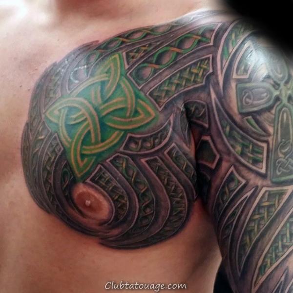 Guys Celtic inspiré jambe complète Designs