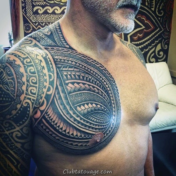 Inner Forearm Mens samoan design Tattoo tribal