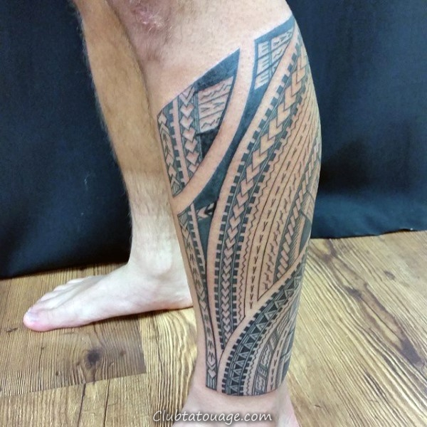 Manly samoans Guys Tattoo idées Half Sleeve tribal