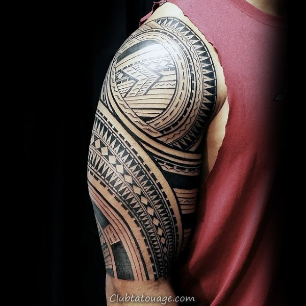 samoan manches Homme Arm Tattoo Tribal Designs