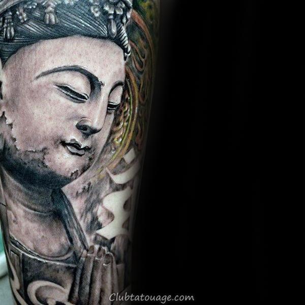Retour simple du bras chinois écriture Hommes Citation Tattoos