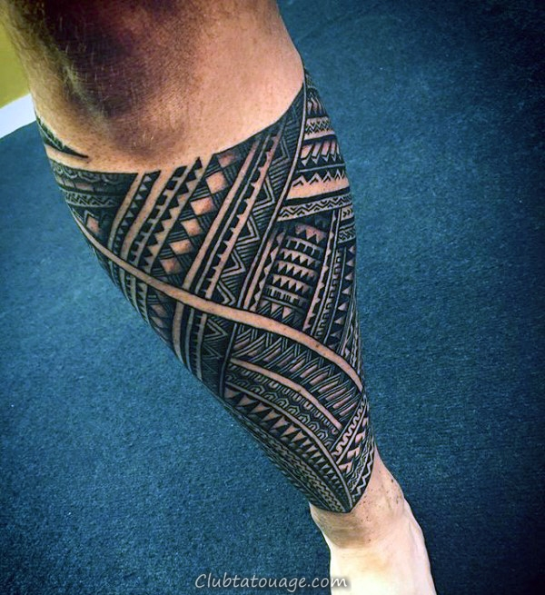 Épaules Mens samoans Tribal Tattoos