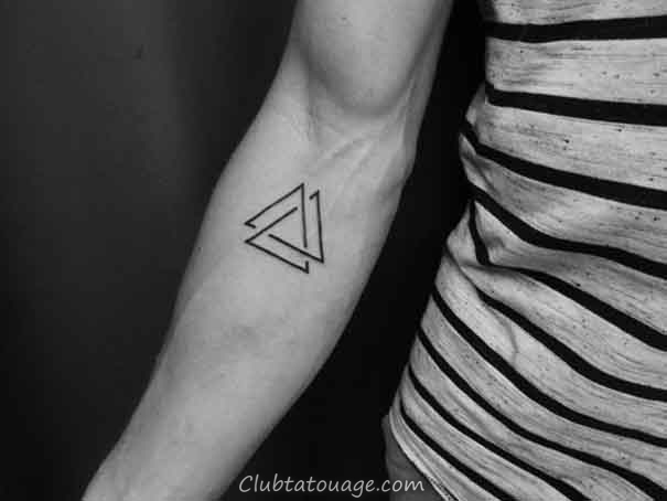 populaire triangle tatouages 2017