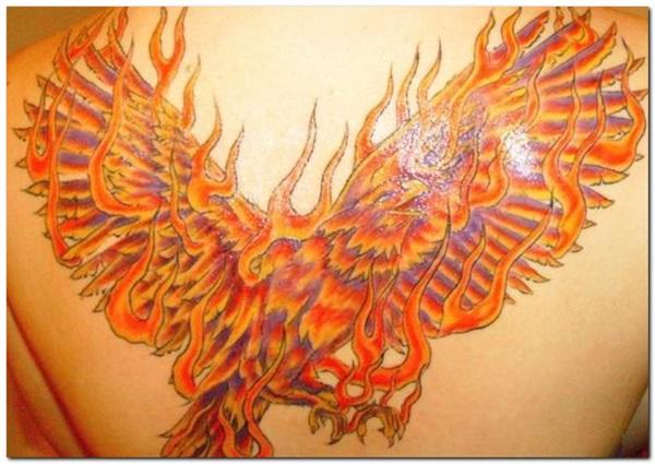 Flammes et idées de tatouage de feu 1