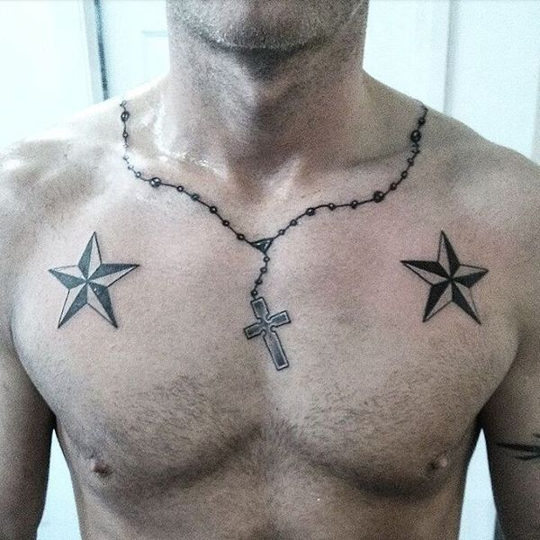 collier homme tattoo