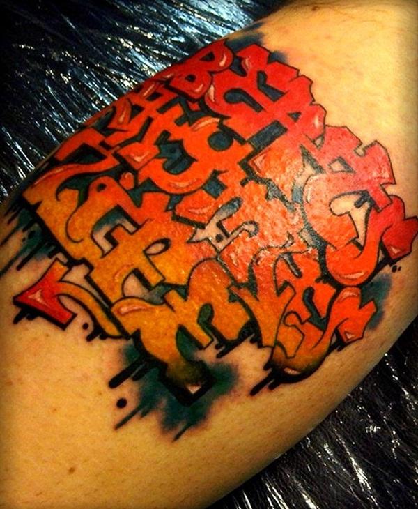105 conceptions de tatouage d'encre rouge pour l'inspiration d'art de corps