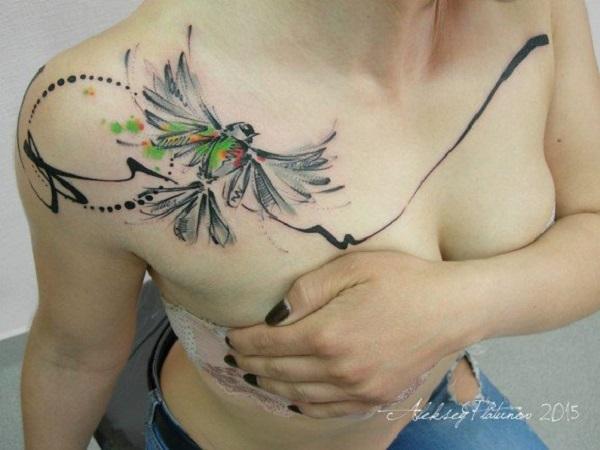 30 belles idées de tatouage d'oiseaux