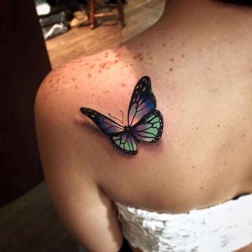 Gaudy en trois dimensions papillon