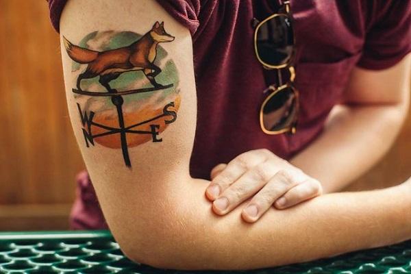 40 conceptions étonnantes de tatouage de renard