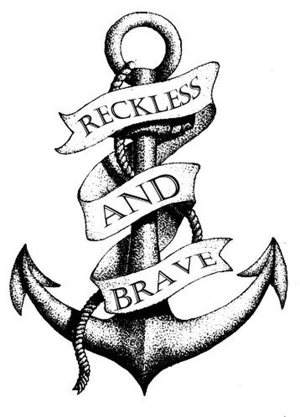 meilleure ancre et tatouage de rouleau
