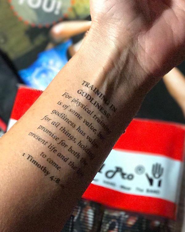 que dit la bible sur les tatouages